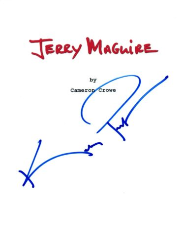 Kelly Preston Signed Autographed JERRY MAGUIRE Movie Script COA