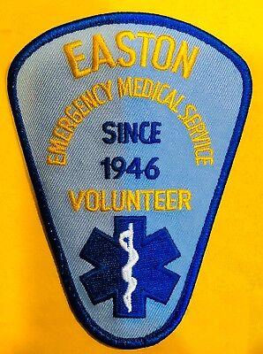 EASTON CONNECTICUT EMS SHOULDER PATCH