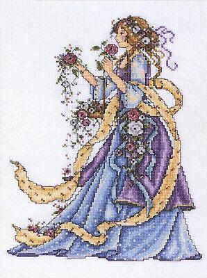 Cross Stitch Kit ~ Design Works Victotian Era Elegant Rose Lady #DW2493 SALE! Designer Rose Cross