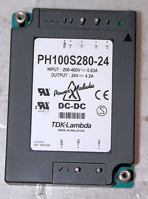 Dcdc Power Supply Module Tdk-lambda Ph100s28024