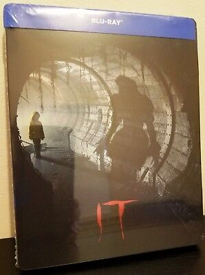 IT (2017) Blu-ray Exclusive Limited Edition Italy STEELBOOK *New Release* - Halloween Movie Releases