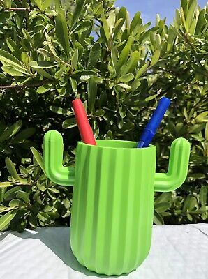 New Cactus-shaped Plastic Pen Or Pencil Holder Decor For Your Desk