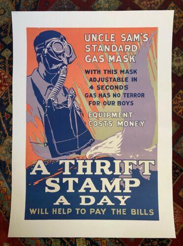 """WWI Vintage Poster 2018 """"Uncle Sam"""