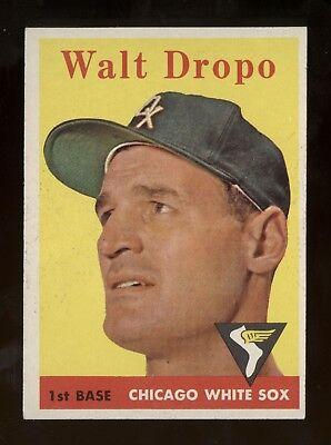 1958 Topps #338 Dropo in ExMt Condition
