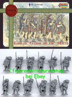 1:72 FIGUREN M007 ROMAN IMPERIAL LEGION ON THE MARCH - LINEAR-B
