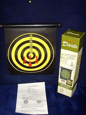 - New in Box!•Wembley•Magnetic Darts•2-Sided Board•3 Magnetic Darts•Model No. 9024