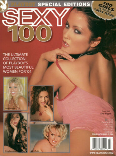 Playboy Special Edition Sexy 100 Ultimate Collection  Alley Baggett Lani Todd