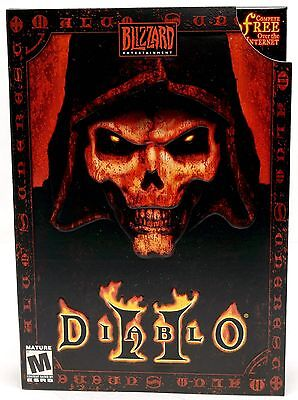 Computer Games - NEW SEALED Diablo II 2 Video Game for PC/MAC Computer Windows 10/8/7/XP blizzard
