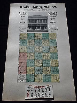 Antique Marshfield Wisconsin General Store Advertising Calendar