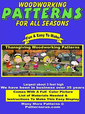 Halloween Yard Art (WHIMSICAL  THANKSGIVING YARD ART, HALLOWEEN WOODWORKING 8 PATTERN IN SET PLAN)