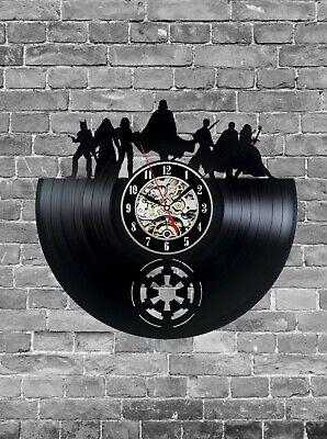 Star Wars Vinyl Clock, Wall Clock, Home Decoration, Series Vinyl Gift Idea