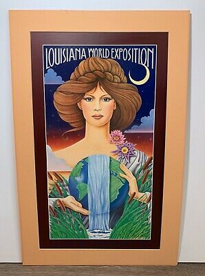 Hugh Ricks Louisiana World Exposition World Water Goddess 1982 New Orleans Art