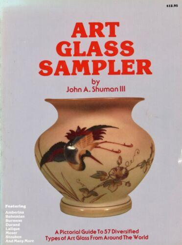 Art Glass Types - Mt. Washington Moser Durand Steuben Tiffany Etc. / Scarce Book
