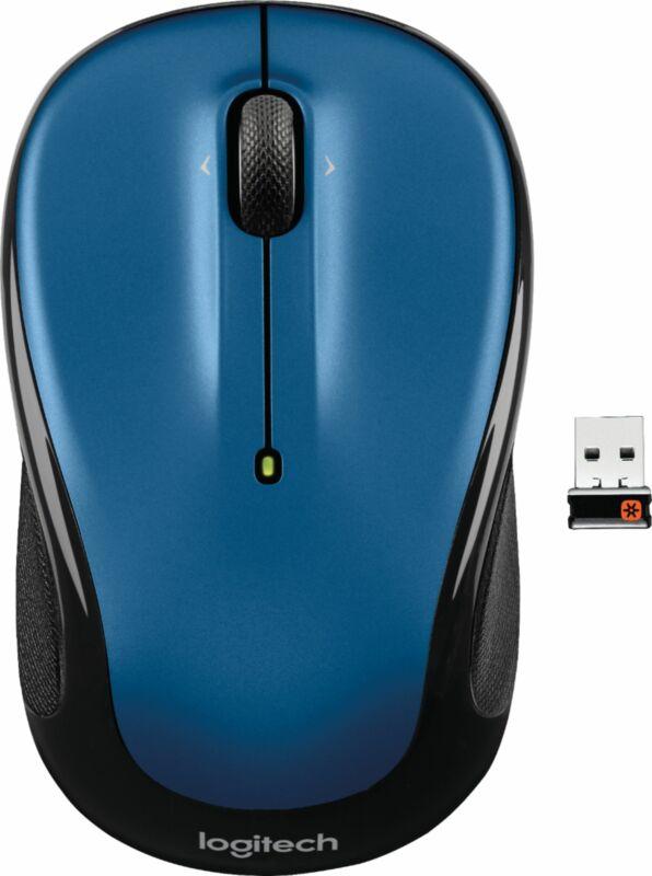 Logitech - M325 Wireless Optical Mouse - Blue