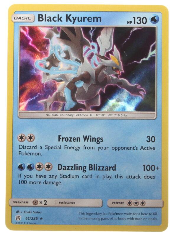 NM Pokemon BLACK KYUREM Card BLACK STAR PROMO Set XY160 Blister Pack XY Holo