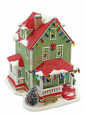 Department 56 A Christmas Story Village Bumpus House Retired 805667
