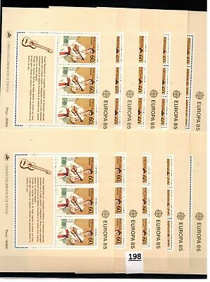 /// 10X PORTUGAL - MNH - EUROPA CEPT 1985 - MUSICAL INSTRUMENTS - WHOLESALE
