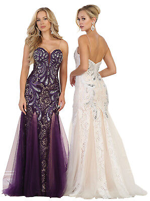 Red Carpet Sale (SALE ! PROM SPECIAL OCCASION FORMAL GALA GOWN RED CARPET EVENING PAGEANT)