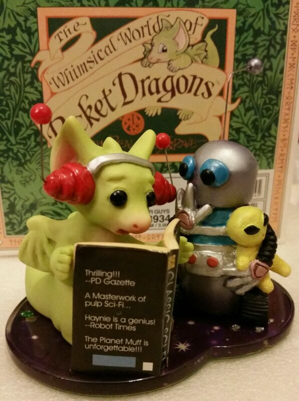 RRD 💖 Pocket Dragons Dragon *New in Box* 👽Sci-fi Guys👽 * 2004 *