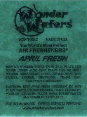 (Wonder Wafer Car/Truck Air Freshner APRIL FRESH Scent 1 Wafer)