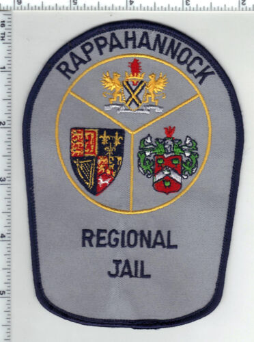 Rappahonnock Jail (Virginia) Uniform Take-Off Shoulder Patch from the 1980s