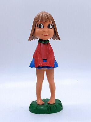 Vintage 1960's  Little Girl Bobble Head-Rare West German BMG Magneto Bobble Head Little German Girl