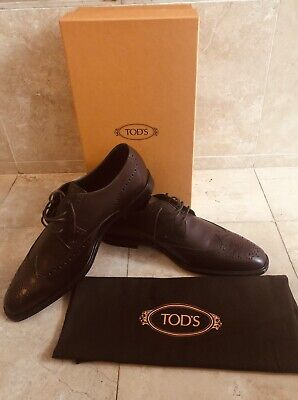 Make Offer(s): MADE IN ITALY TOD'S BROWN SHOES. AUTHENTIC CLASSICAL LUXURY for sale  Shipping to India