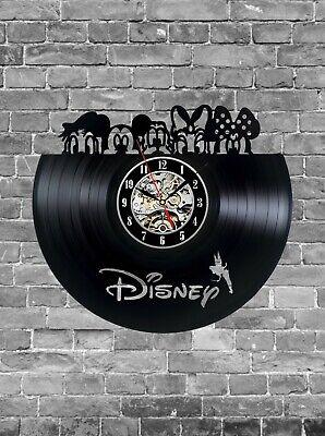 Vinyl Clock , Home Decor Gift for Fans Surprise Ideas Best Friends Birthdays