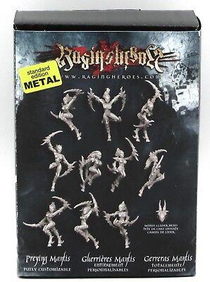 - Raging Heroes 20249 Preying Mantis (Standard Metal) Female Chaos Warriors NIB