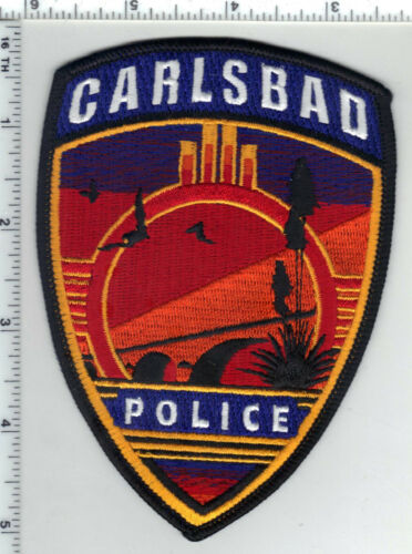 Carlsbad Police (New Mexico) 4th Issue Shoulder Patch