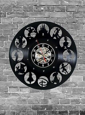 Vinyl wall clock 12 inches. A great gift for American cartoon lovers home decor