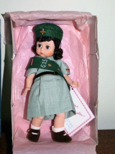 """Girl Scout 8"""" Doll by Madame Alexander-in Box-Complete Uniform #317 BIN/Offer"""