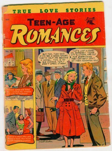TEEN AGE ROMANCES #24   Matt Baker