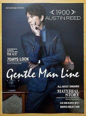 JI SUNG/Korean Actor/AUSTINREED/Fashion Catalogue/Fall Winter 2015/Brand New