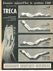 Publicite advertising 015 1961 treca matelas sommier cad ebay - Matelas sommier 120x190 ...