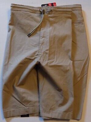Chaps Big Tall Stretch Cargo Shorts Media Pocket Khaki - Size 52 Inseam
