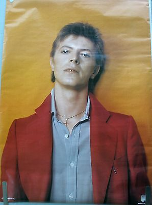 RARE DAVID BOWIE 1981 VINTAGE ORIGINAL MUSIC POSTER