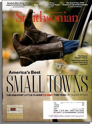 Smithsonian - 2014, April - America's Best Small Towns, Copley's Grand (Smithsonian Best Small Towns)