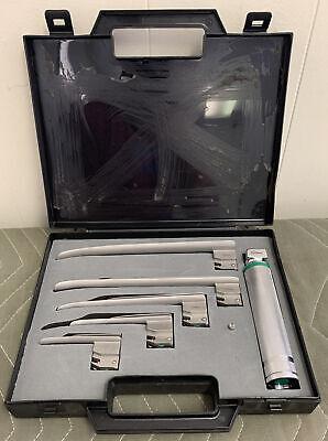 Sunmed Greenline Fiber Optic E-miller Kit Ez 01234 Laryngoscope Handlelamp