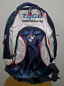official 2016 tyco bmw motorrad tas de course bsb sac dos ebay. Black Bedroom Furniture Sets. Home Design Ideas