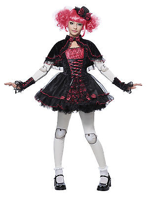 Victorian Creepy Doll Monster High Child Costume - Kids Monster Costumes