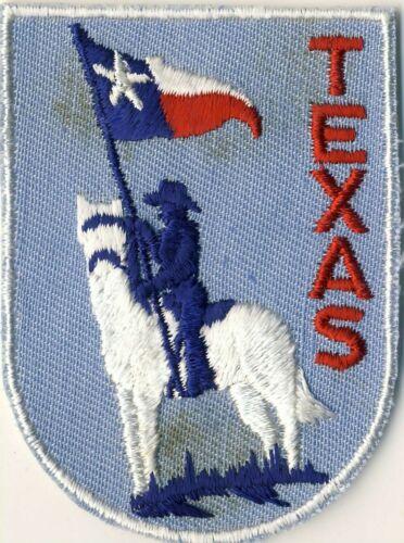 "TX Texas Flag Souvenir Voyageur 2.75"" Backpack Patch"