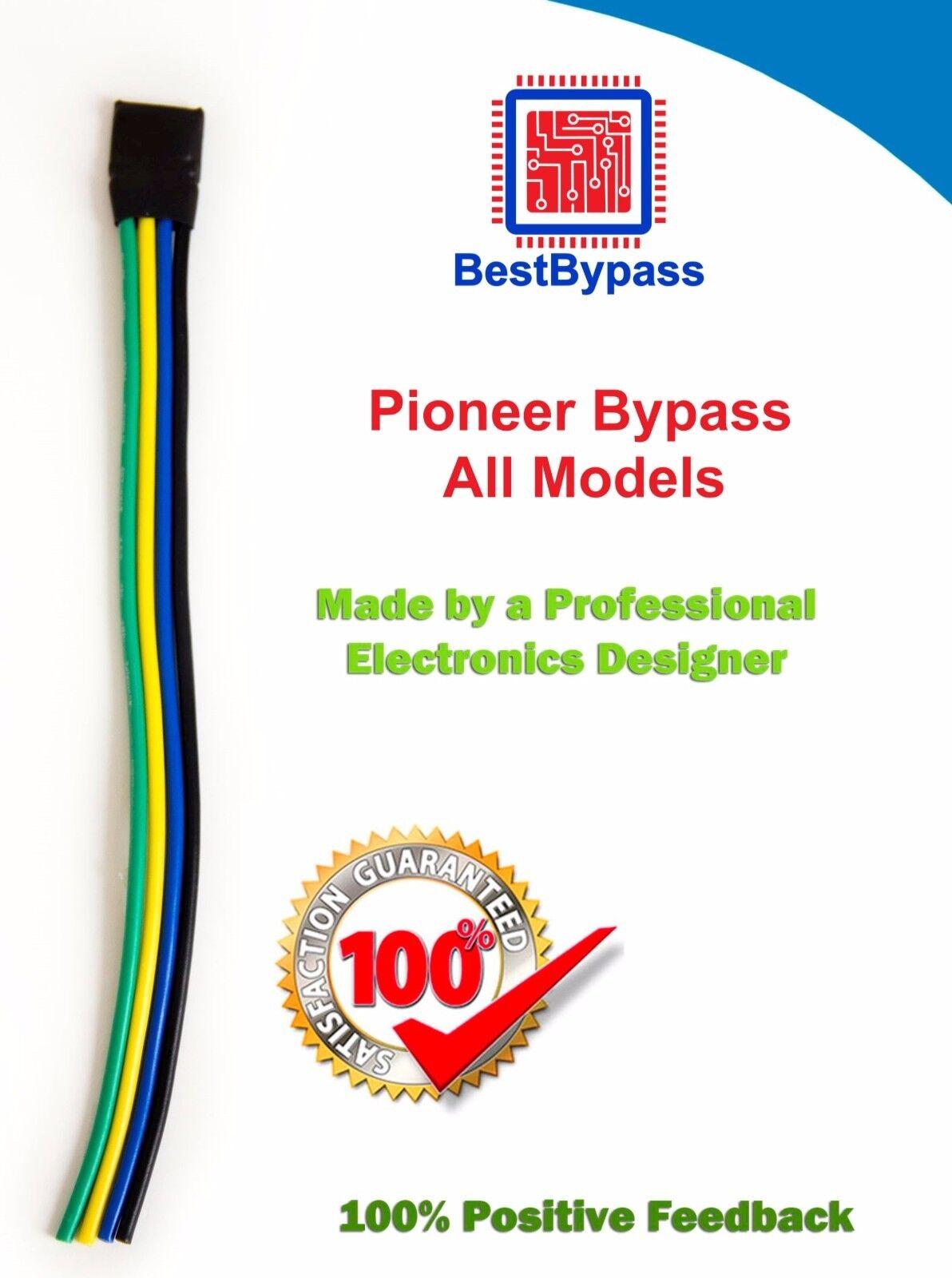 BestBypass VIDEO BYPASS, PARKING BRAKE BYPASS Triple Pulse  Fits all Pioneer AVH