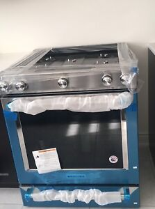 30-Inch 5-Burner Gas Convection Front Control Range