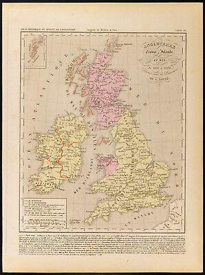 Cartina Stradale Della Scozia.Mappa Vecchia Inghilterra Vatican
