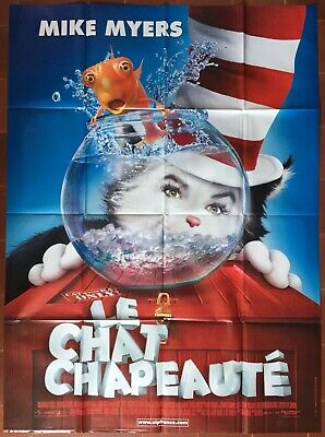Plakat der Kater Regenschirm Cat in The Hat Mike Myers Bo Welch 120x160cm