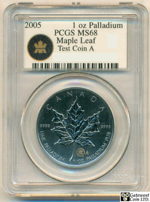2005 1oz Palladium Maple Leaf