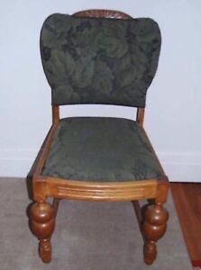 CHEAP THIS WEEK ONLY  ! 4  x 1920's chairs & table set ANTIQUE COLLECT Parramatta Parramatta Area Preview