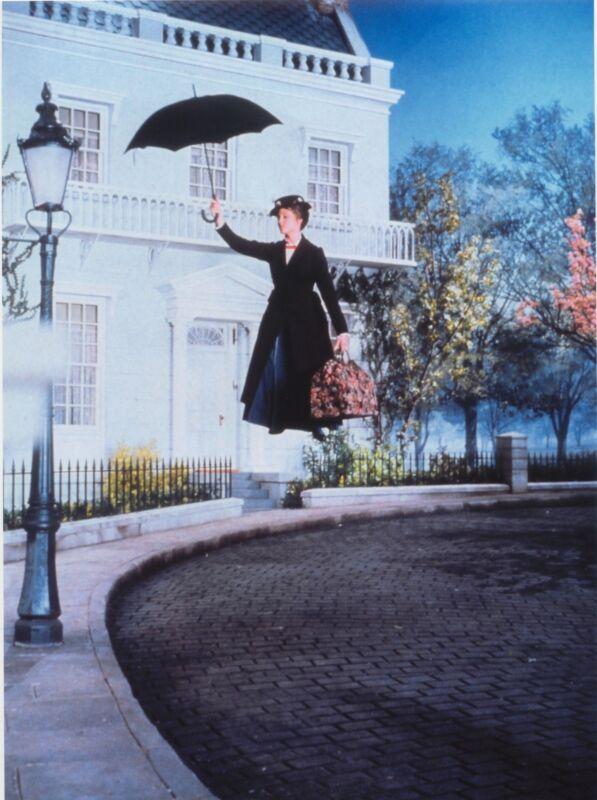 MARY POPPINS JULIE ANDREWS WONDERFUL PHOTO