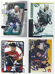 Mike-Leclerc-Signed-Autographed-Hockey-Card-Anaheim-Ducks-2001-UD-MVP